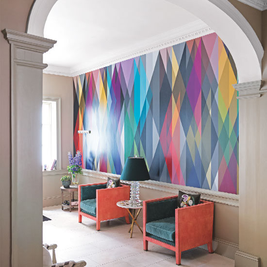 Accent walls statement papers patrick shields above is a wallpaper installed on accent wall in a home recently i installed a similar mural on an accent wall in an office setting see below from the sciox Choice Image